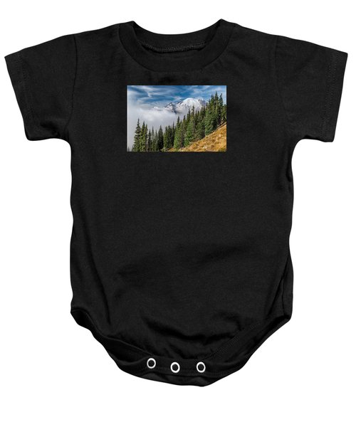Above The Clouds Baby Onesie