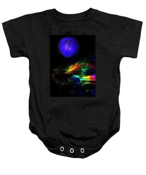 Above The Cosmic Sea Baby Onesie