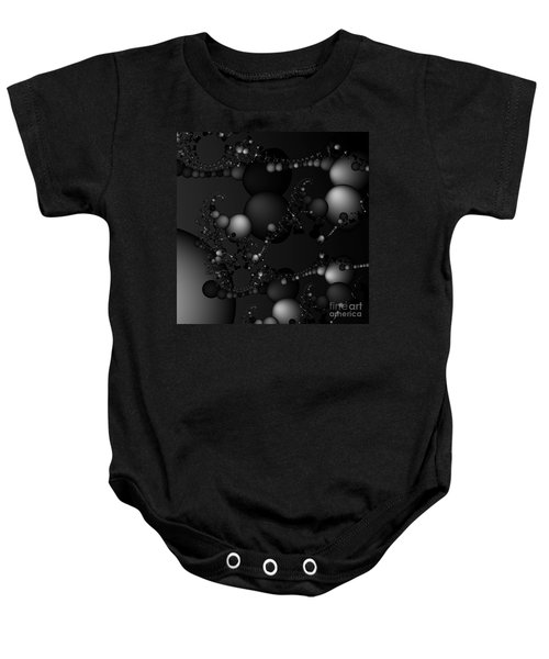 Abstract 119 Bw Baby Onesie