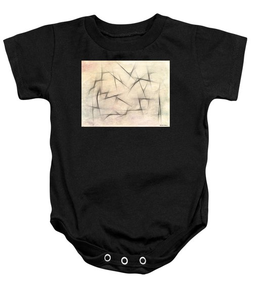Abstract 1999 Baby Onesie