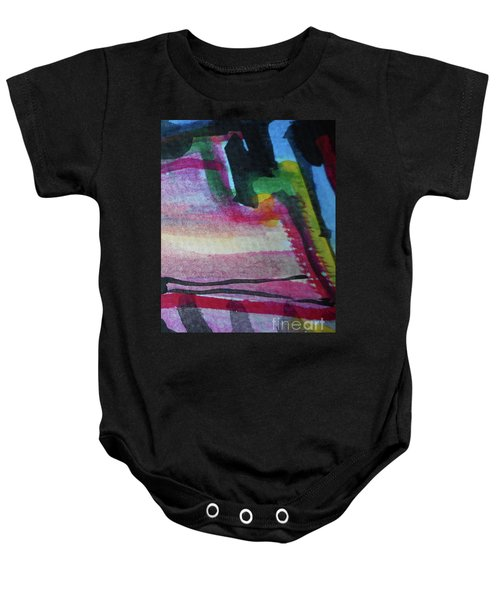 Abstract-25 Baby Onesie