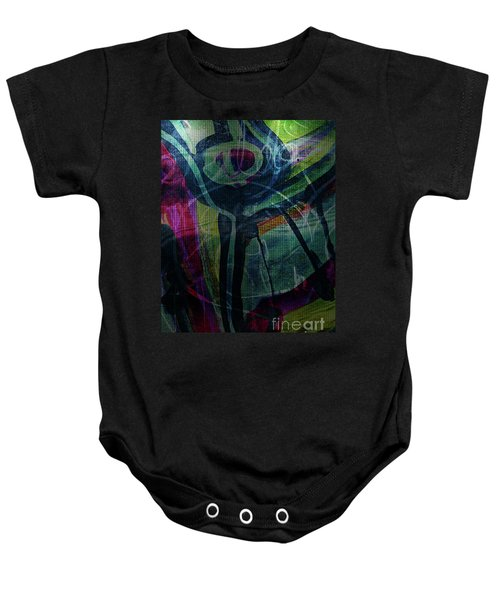 Abstract-30 Baby Onesie