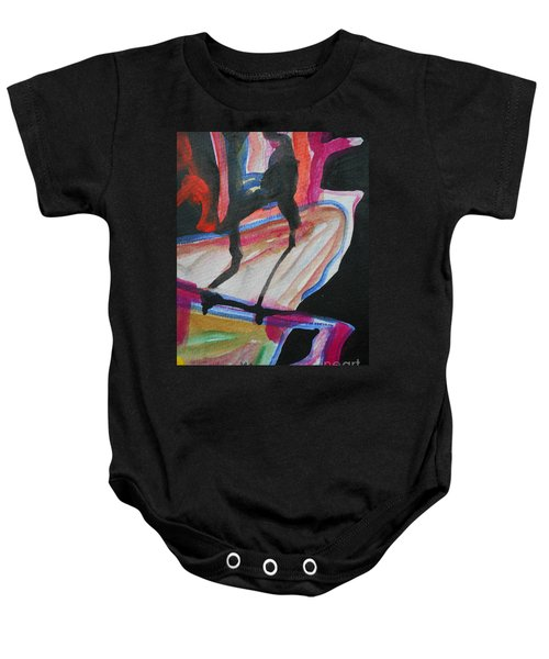 Abstract-5 Baby Onesie