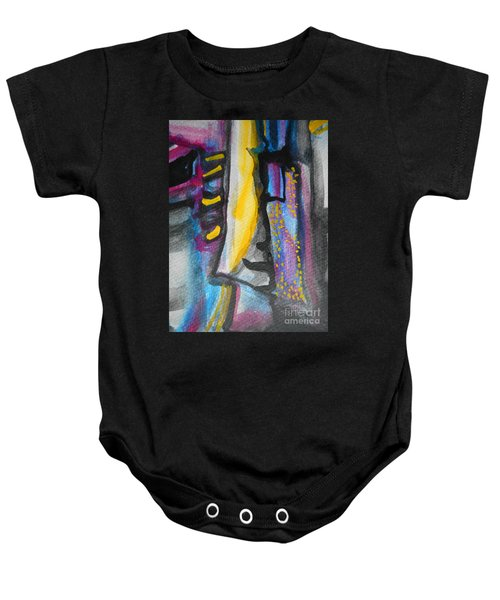 Abstract-8 Baby Onesie