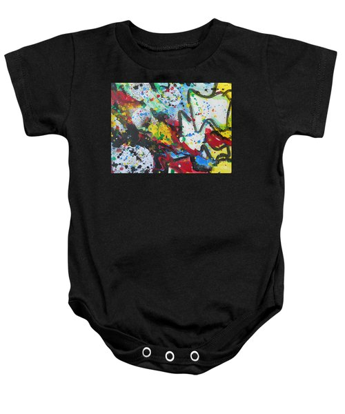 Abstract-9 Baby Onesie