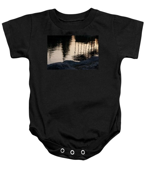 Abstract Color 2 Baby Onesie