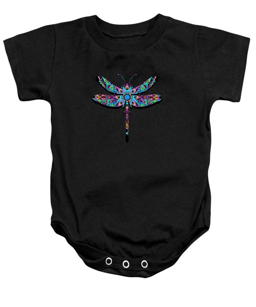 Abstract Dragonfly Baby Onesie
