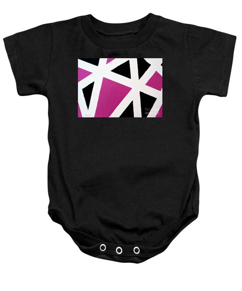 Abstract M1015l Baby Onesie