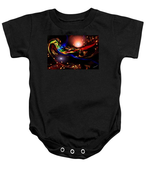 Abstract Mood Baby Onesie