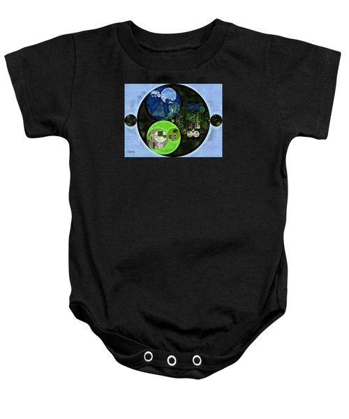 Abstract Painting - Asparagus Baby Onesie