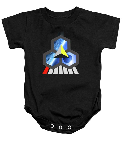 Abstract Space 1 Baby Onesie by Russell K