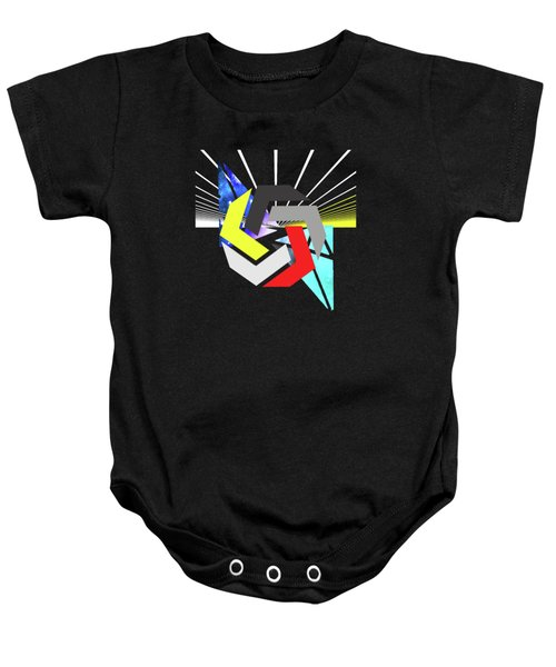 Abstract Space 6 Baby Onesie by Russell K
