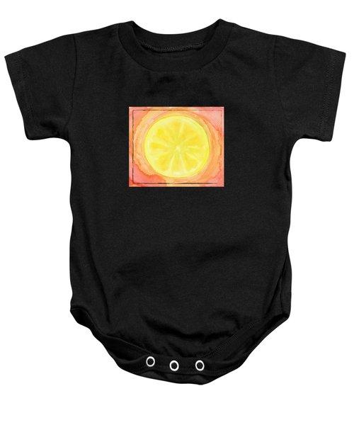 Acid Lemon Baby Onesie