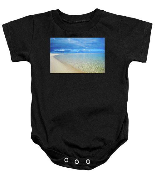 Adagio Alone In Ouvea, South Pacific Baby Onesie
