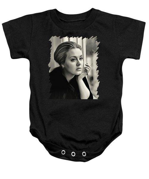 Adele Baby Onesie by Twinkle Mehta
