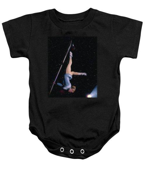 Aerial Acrobat Baby Onesie by Jon Delorme