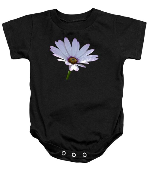 African Daisy Baby Onesie by Scott Carruthers
