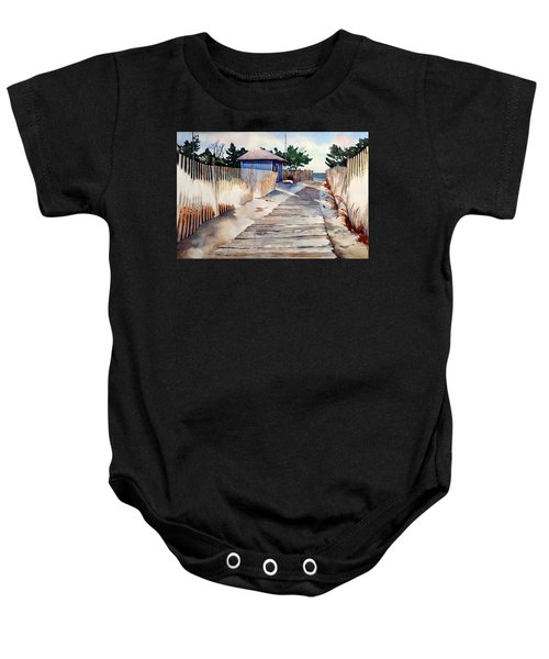 After The Boys Of Summer Baby Onesie