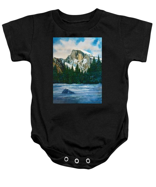 After The Snowfall, Yosemite Baby Onesie