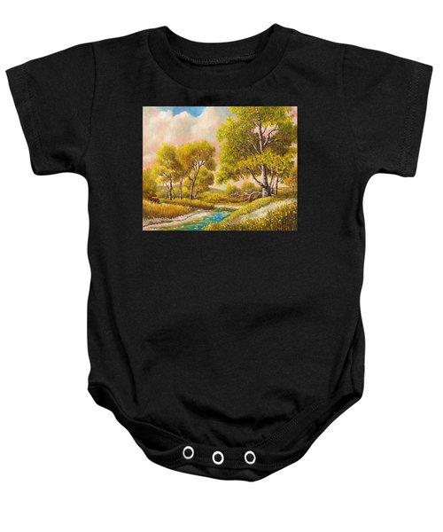 Afternoon Shade Baby Onesie