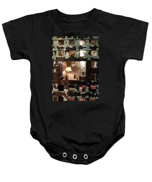 Al Capone Cell Baby Onesie by Crystal Wightman