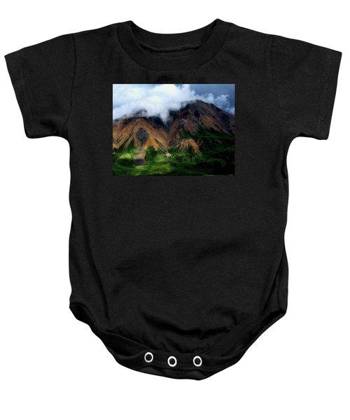 Alaskan Grandeur Baby Onesie