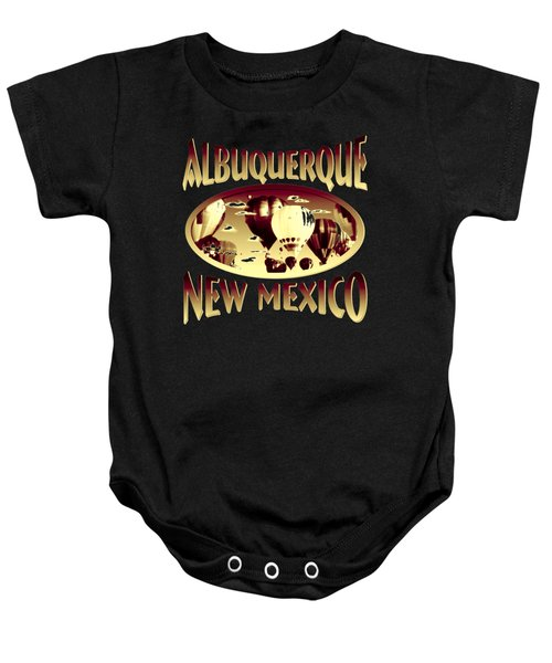 Albuquerque New Mexico Design Baby Onesie