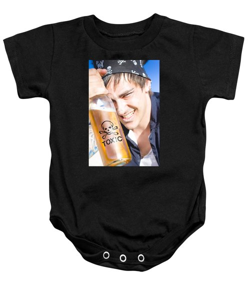 Yo Ho Ho And A Bottle Of Rum Baby Onesie