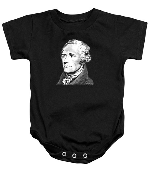 Alexander Hamilton - Founding Father Graphic 2 Baby Onesie