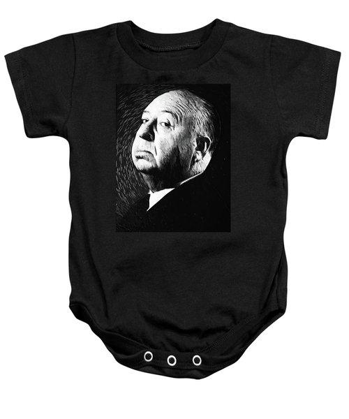 Alfred Hitchcock Baby Onesie