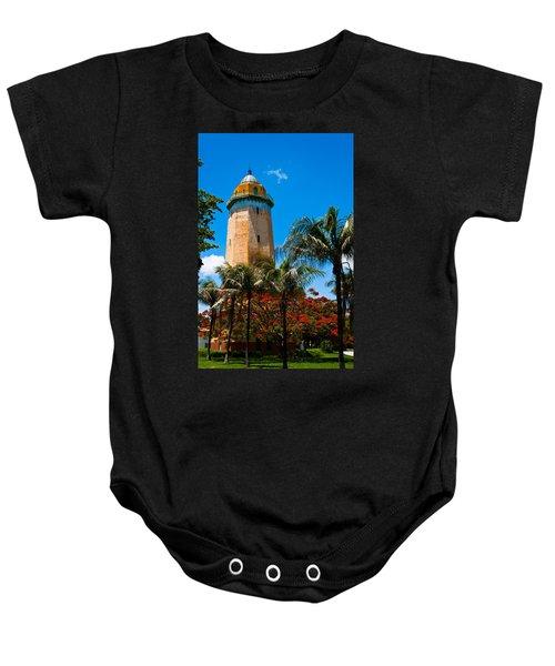 Alhambra Water Tower Baby Onesie