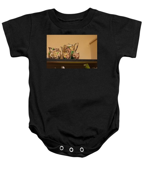 Alice's Tea Party Baby Onesie