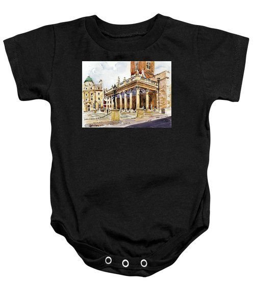 All Saints Church Northampton Baby Onesie