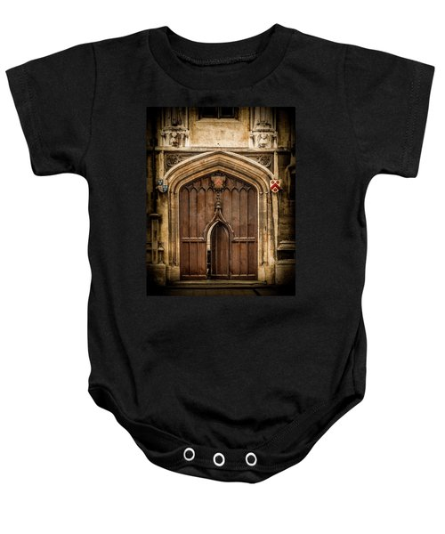 Oxford, England - All Souls Gate Baby Onesie
