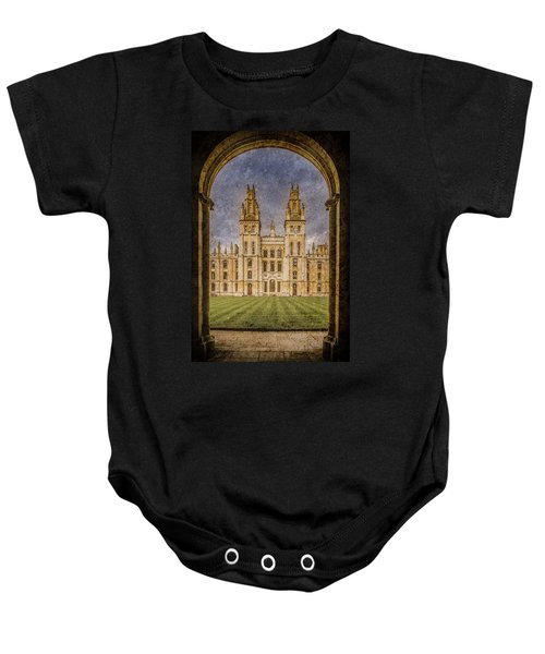 Oxford, England - All Soul's Baby Onesie