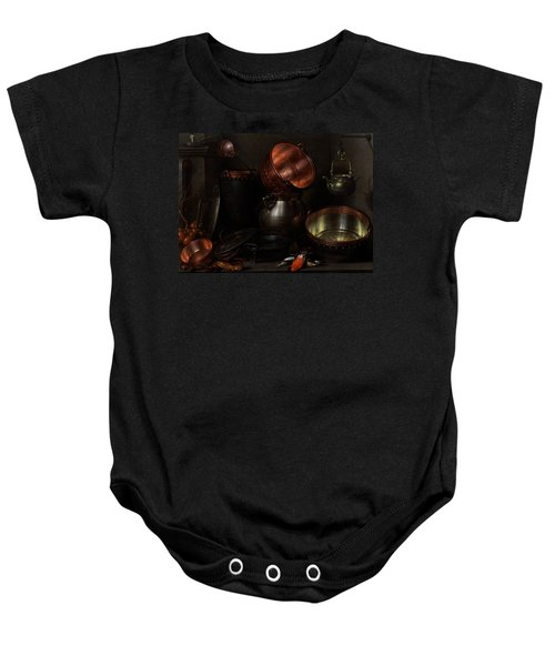 Allegory Of The Four Elements Baby Onesie