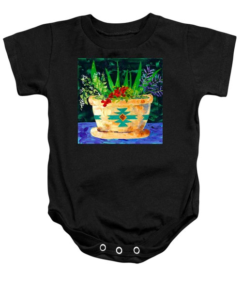 Aloe Vera And Friends  Baby Onesie