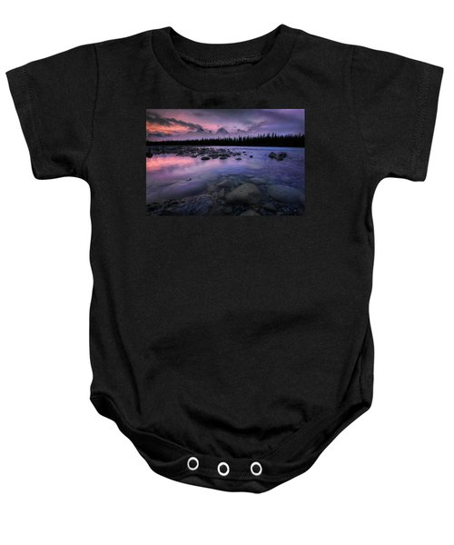 Along The Athabasca Baby Onesie