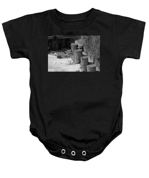 Along The Shore Baby Onesie