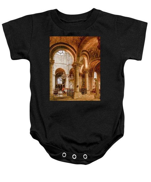Poissy, France - Altar, Notre-dame De Poissy Baby Onesie