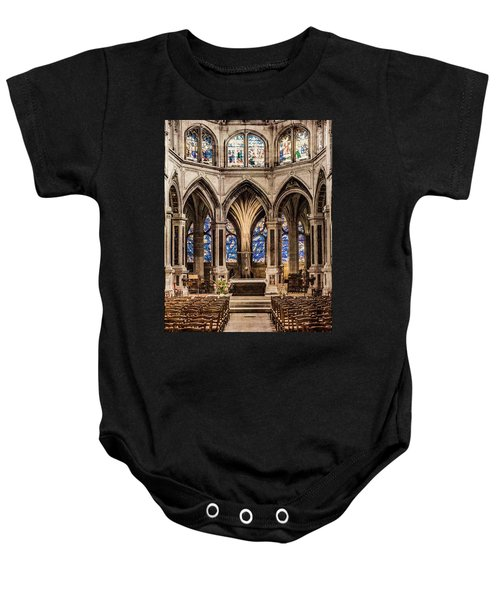 Paris, France - Altar - Saint-severin Baby Onesie