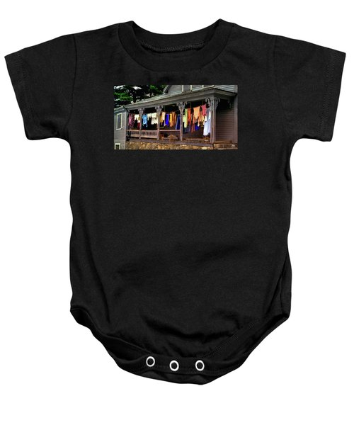 Alton Washday Revisited Baby Onesie