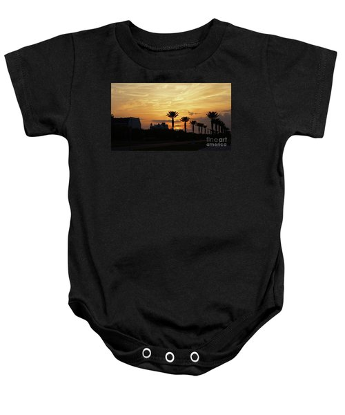 Alys At Sunset Baby Onesie