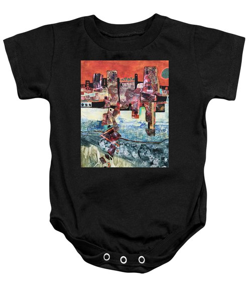 Amazing Places Baby Onesie
