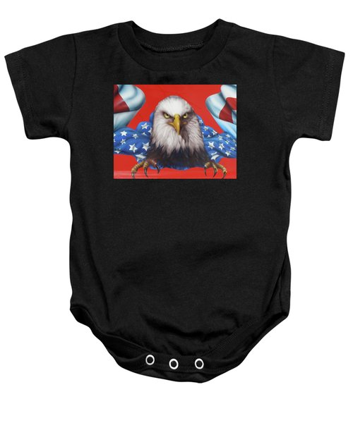 America Patriot  Baby Onesie