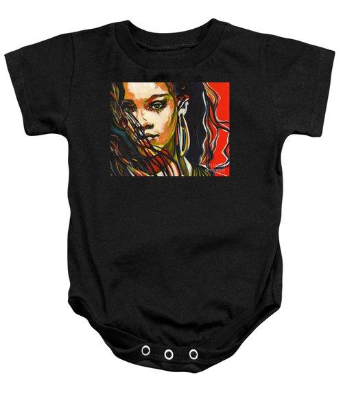 American Oxygen - Rihanna Baby Onesie