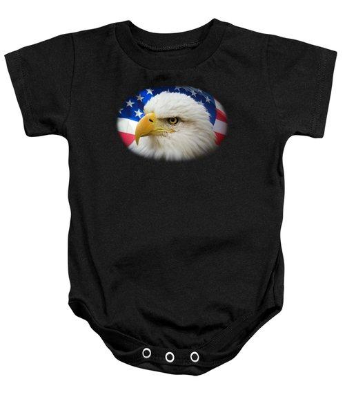 American Pride Baby Onesie