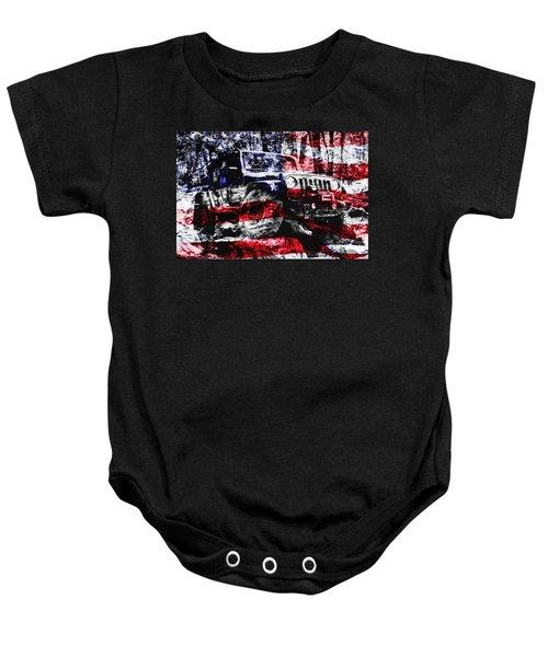 American Rock Crawler Baby Onesie