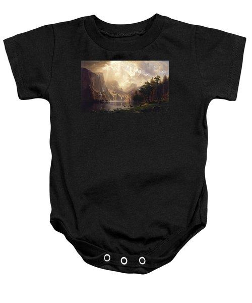 Among The Sierra Nevada Baby Onesie