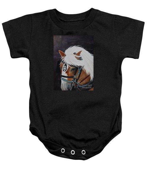 Amos - Haflinger - Horse Baby Onesie